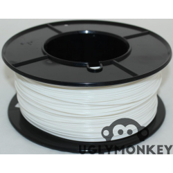 White 2.85mm (3mm) PLA Filament
