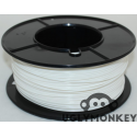 White 2.85mm (3mm) PLA Filament