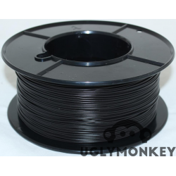 Black 2.85mm (3mm) PLA Filament