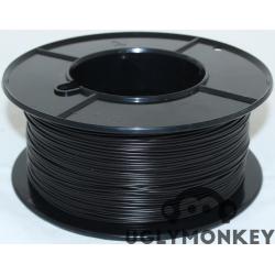 Black 2.85mm (3mm) PLA Filament