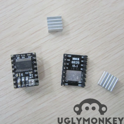DRV8825 Stepper motor driver, with heat sink