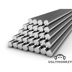 10mm 316 Stainless Steel Linear Rods also knows as Rails