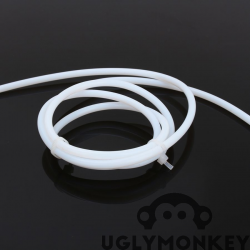 PTFE Tubing, OD 4mm, ID 2mm, 1m long