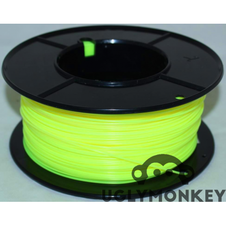 Flourescent Yellow Super PLA 1.75mm 1.75mm