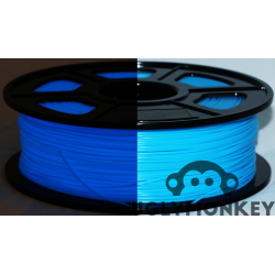 Glow in the Dark Blue PLA 1kg, 1.75mm
