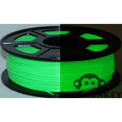 Glow in the Dark Green PLA 1kg, 1.75mm