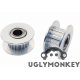 Idler pulley with 20 teeth GT2 belt