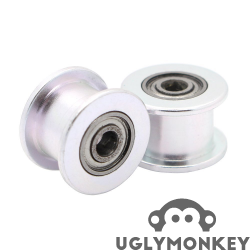 Smooth Idler pulley for GT2 belt 12mm