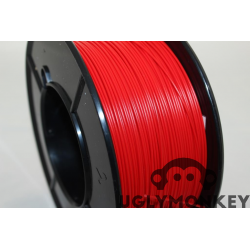 Red ABS filament