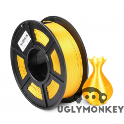 Uglymonkey Silk Light Gold PLA