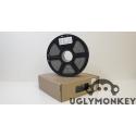 Grey PLA Filament, 1kg, 1.75mm