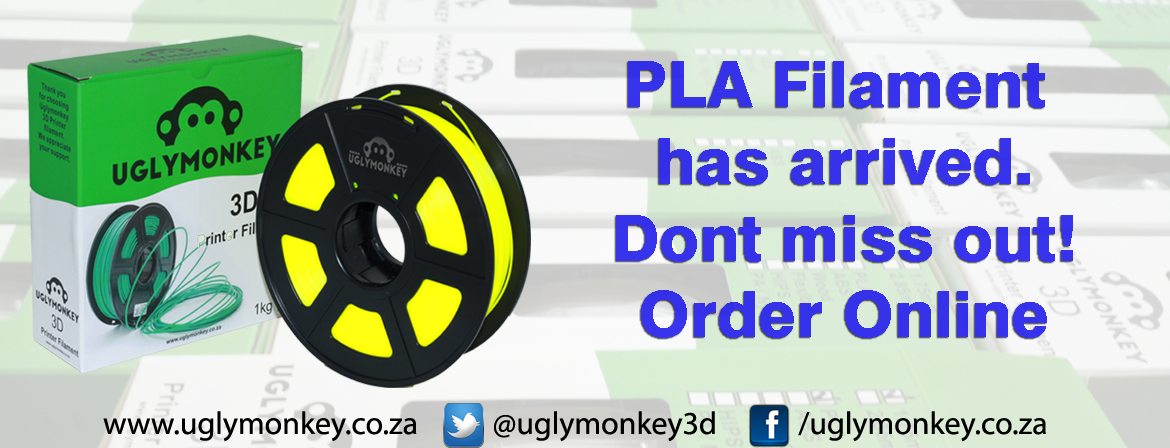 PLA Filament cape town will be ariving soon