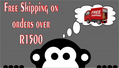 Free Shipping on orders over R1500